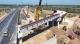 德上高速42米钢箱梁顺利架设