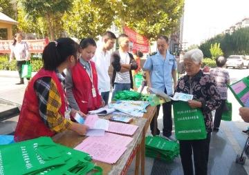 陵城区市场监管局:食品安全知识宣传进社区