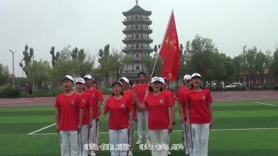齐河县录制反邪教广场舞《火火的中国火火的时代》