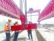 马颊河特大桥桥面整体贯通 全长2554.8米计划年底通车