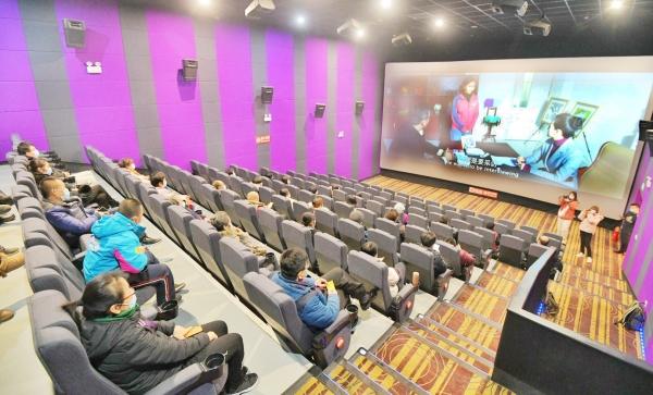德州举办公益电影 《朝华》首映仪式