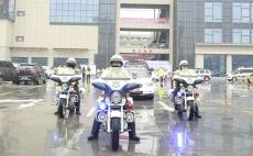 """慶云縣舉行""""122""""交通安全主題宣傳活動啟動儀式"""