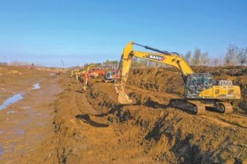 德州引黃灌區農業節水工程年底主體竣工