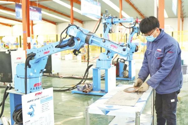 大国重器——工业机器人项目投产