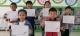 堤岭小学开展规范书写铅笔字展示活动