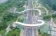 德州文化路跨岔河西大道天桥主体完工