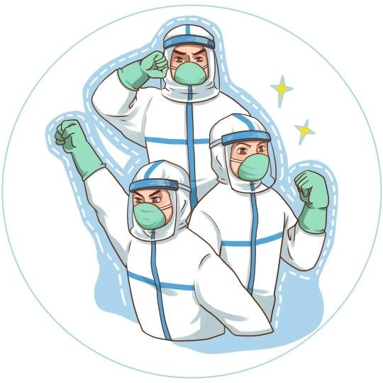 """發熱門診、核酸采樣……是""""他們"""",奔忙奮戰在抗疫第一線"""