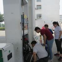 """禹城:""""1+1""""模式开展加油站夏季专项检查活动"""