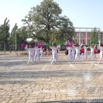 长官中学举行学校首届啦啦操比赛