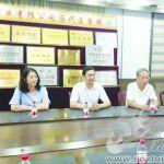 杨宝光在夏津丰润纺织有限公司指导工作
