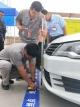 德州市举行残疾人驾驶技能大赛  30名残疾人汽车驾驶员比拼车技