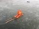 寒冬腊月一男子被困湖面 | 消防员冰面匍匐20多米救援