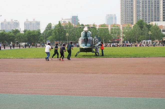 直升机救援!德州1岁多宝宝转院北京,多部门开启生命绿色通道