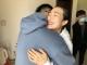 """現場直擊   """"58天后,終于再次擁抱你""""為援鄂推遲婚期的劉維超小兩口團聚了"""