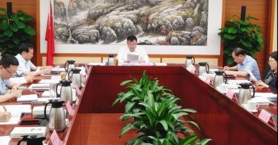 德州市长杨洪涛主持召开市政府党组会议 学习贯彻习近平总书记系列重要讲话精神