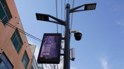 实时监控街道卫生 大气扬尘 | 武城:智慧灯杆推动智慧城市建设