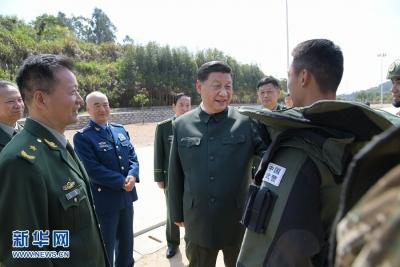 习近平在视察武警第二机动总队时强调 全面加强练兵备战 全面提高履行使命任务能力