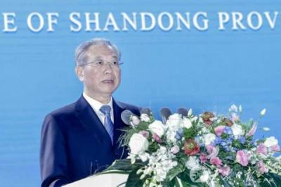 2021上海合作组织国际投资贸易博览会暨上海合作组织地方经贸合作青岛论坛开幕