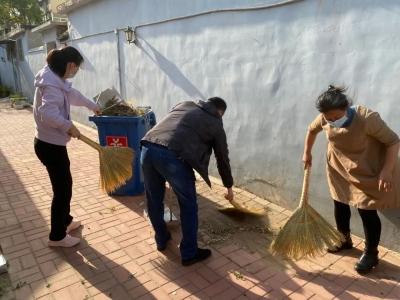 4.22世界地球日 | 德州市中医院组织党员志愿者到社区开展环保活动