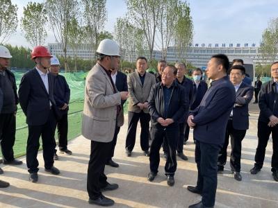 德州市委常委、常务副市长刘长民现场调研督导重点城建项目