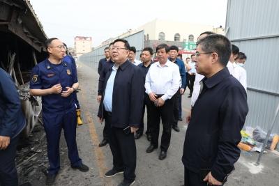 杨洪涛到经开区德城区督导安全生产工作强调 全面排查 彻底整治 确保安全