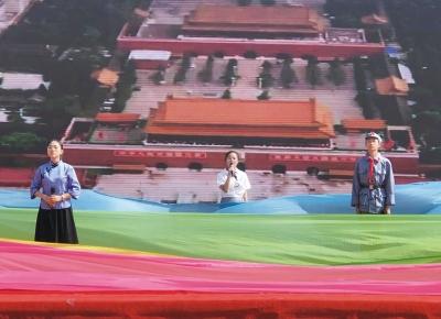 陵城区第七中学举办迎建党100周年暨十四岁集体生日仪式