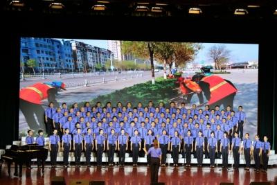 放歌新时代 百年正当时   庆云举行庆祝中国共产党成立100周年合唱晚会