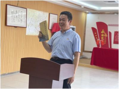 陵城区:中心组专题学党史 百姓宣讲鲜活故事