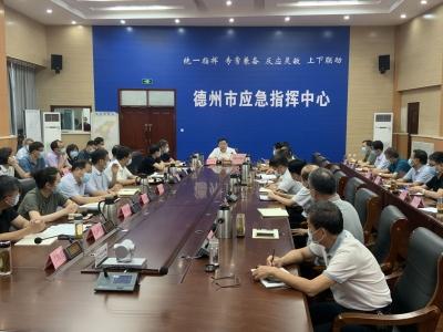 德州疫情防控工作视频会议召开 杨洪涛出席