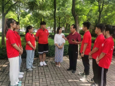 """齐鲁师范学院志愿者服务队到禹城市开展""""三下乡""""活动"""