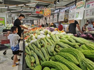 全力稳住食品价格!大雨过后,德百超市货源充足供应稳定