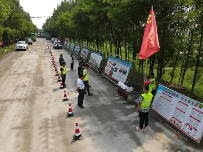 临邑公路分中心确保辖内道路汛期安全畅通