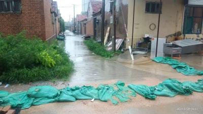 """台风""""烟花""""云系已基本移出德州!我市解除暴雨橙色和雷电黄色预警信号"""