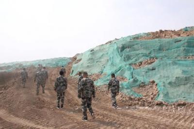 乐陵市自然资源局开展防治地质灾害应急演练