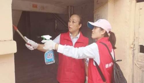 德州福彩中心赴邹李社区开展志愿服务活动