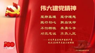 """学习进行时 习近平""""七一""""讲话:这个""""伟大"""",标明精神新高度"""
