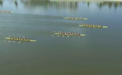 德州第三金!我市运动员郭淋淋女子八人单桨有舵手比赛夺冠,取得个人第二金