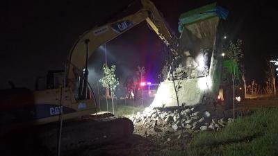 德州经开区建设管理部专项督导建筑工地   56处隐患全部整改到位